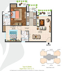 2/3/4 bhk luxurious residential project